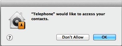 Telephone Mac